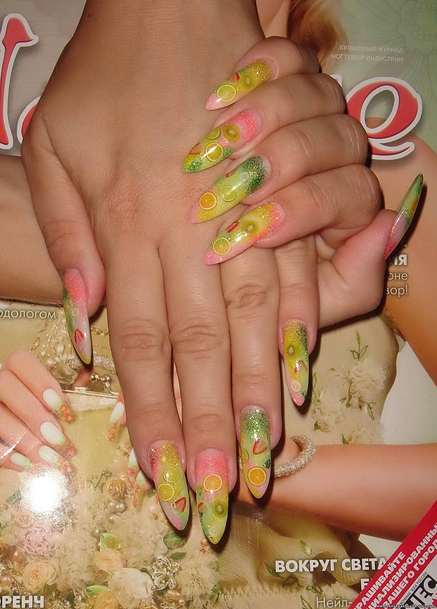 Дизайн ногтей 2008 года фото
